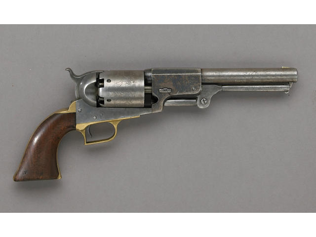 A Colt First Model Dragoon percussion revolver