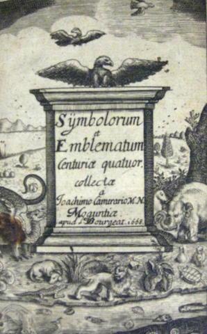 CAMERARIUS, JOACHIM. 1534-1598.
