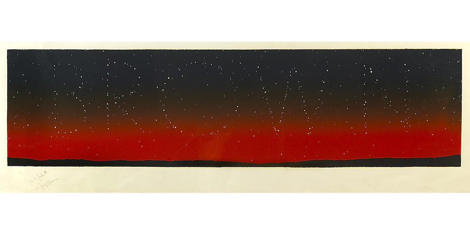 Edward Ruscha (American, born 1937); It's in the Stars;