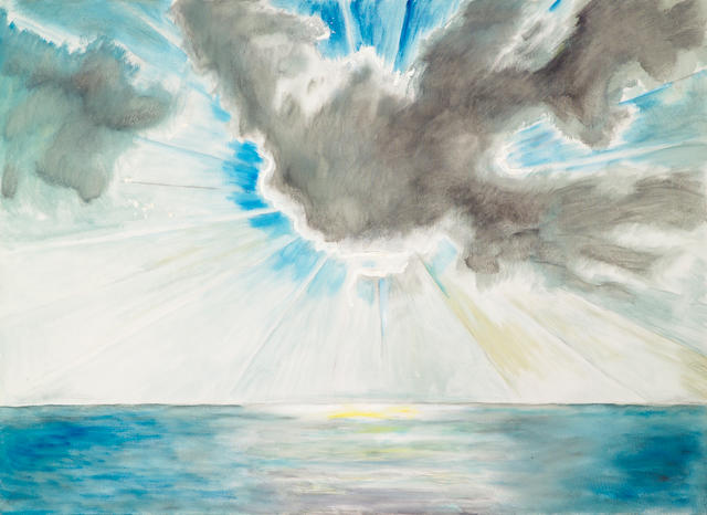 Frederick S. Wight (American, 1902-1986) Cloud, 1982 48 x 66in (121.9 x 167.6cm)