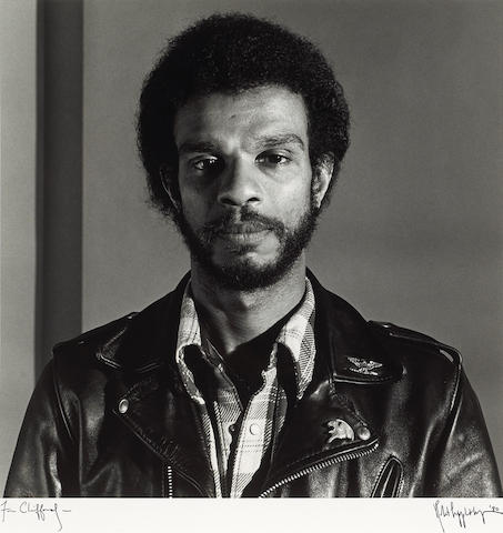 Robert Mapplethorpe (American, 1946-1989); Clifford Bowens;