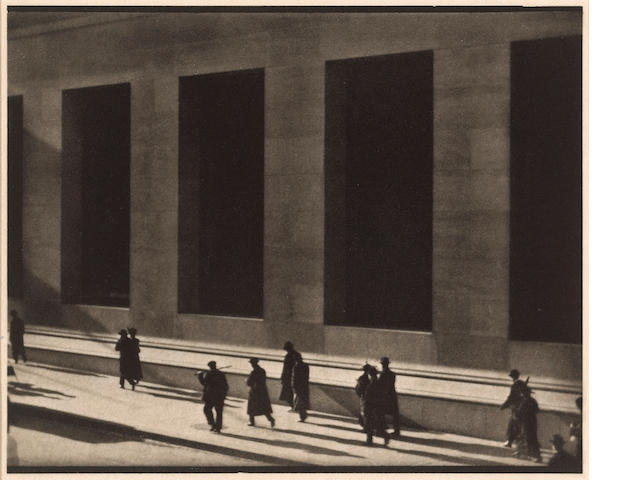 Paul Strand (American, 1890-1976); New York, from Camera Work;