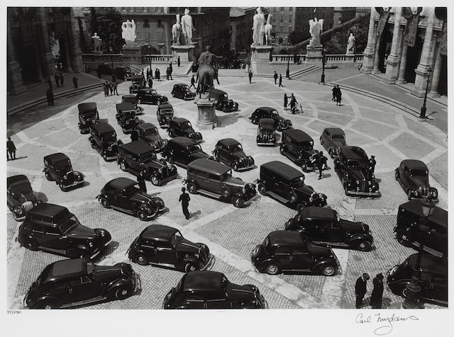 Carl Mydans (American, 1907-2004); Minister's Meeting, Fascist Rome;