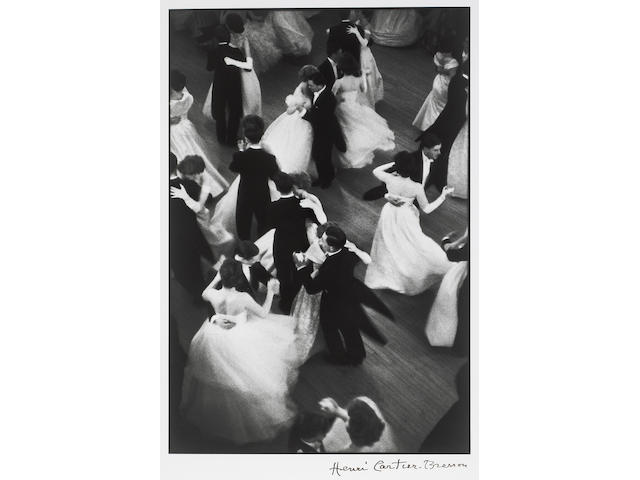Henri Cartier-Bresson (French, 1908-2004); Queen Charlotte's Ball, London;