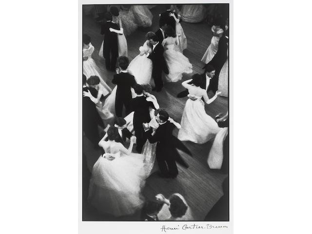 Henri Cartier-Bresson (French, 1908-2004); Queen Charlotte's Ball, London;
