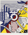 Roy Lichtenstein (American, 1923-1997); Industry and the Arts (II);