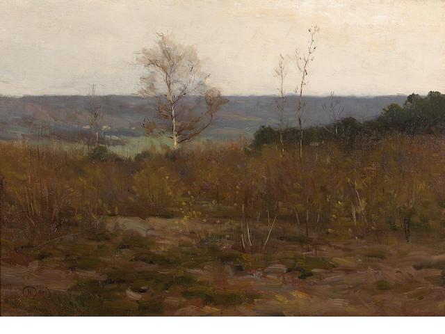 Charles Harold Davis, Landscape, o/c