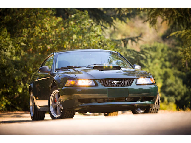 Number 2 in the Series, the Property of Molly McQueen,2001 Ford Mustang Bullitt Edition  Chassis no. 1FAFP42X31F213441