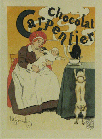 Henry Gerbault (French, 1863-1930); Chocolat Carpentier, from Le Maîtres de l'Affiche;