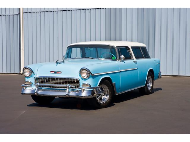 1955 Chevrolet Bel Air Nomad 2-Door Station Wagon  Chassis no. tba