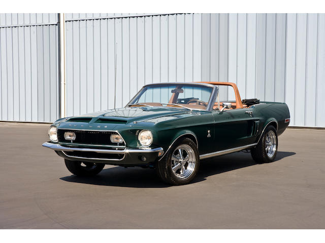 1968 Shelby Mustang GT500 Convertible  Chassis no. 8T03S169394-01975