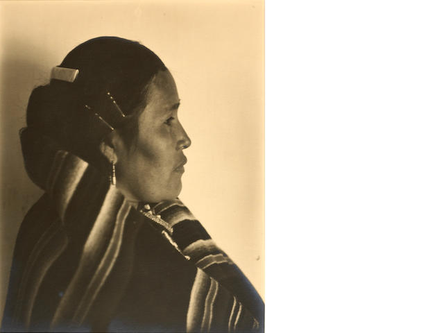 Laura Gilpin (American, 1891-1979); Mrs. Francis Nakai;