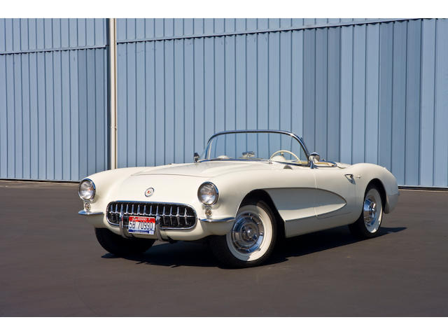 1957 Chevrolet Corvette Convertible  Chassis no. E57S104949