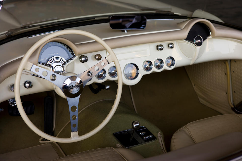 1957 Chevrolet Corvette Convertible  Chassis no. E57S104949