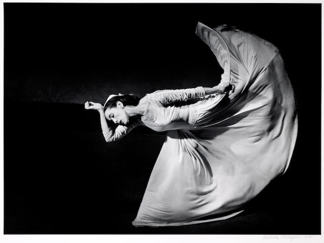 Barbara Morgan (American, 1900-1992); Martha Graham - Letter to the World (Kick);