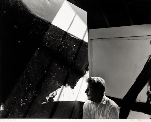 Arnold Newman (American, 1918-2006); Franz Kline, Provincetown, Massachusetts;