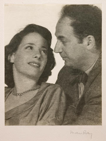 Man Ray (American, 1890-1976); Clifford Odets and his wife, Betty Grayson;