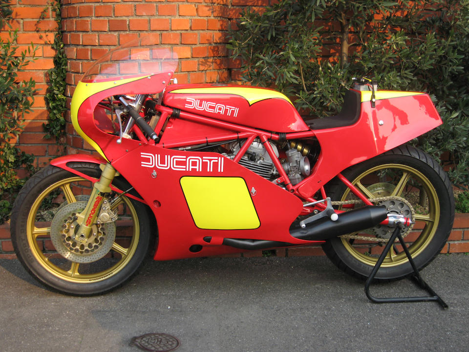 1982 Ducati TT2 Engine no. DM000018