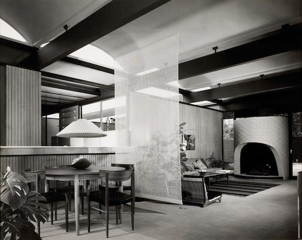 Julius Shulman (American, born 1910); R.M. Schindler's Walker House;