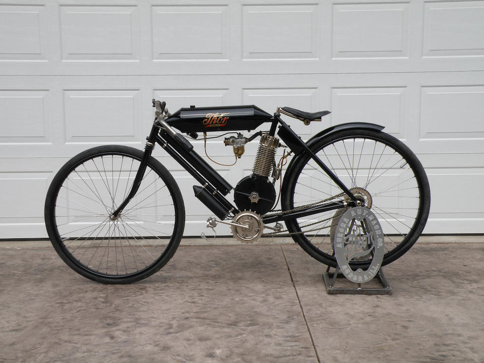 1906 Thor Torpedo Tank Racing Motorcycle Engine no. A-2707