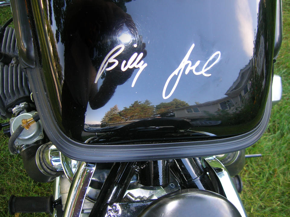 Formerly the property of Billy Joel, 699 miles since new,2002 Ural Tourist Frame no. 1C93764A921208853