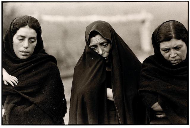 Graciela Iturbide (Mexican, born 1942); La Veronica patrona de la fotografia, Quito, Ecuador; Chiapa