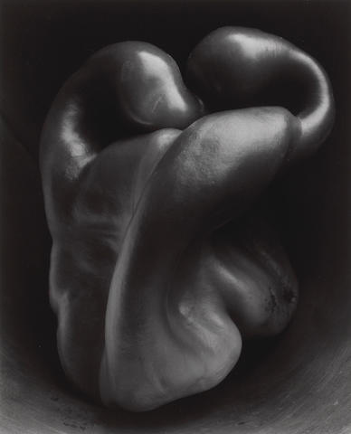 Edward Weston (American, 1886-1958); Pepper, No. 30;