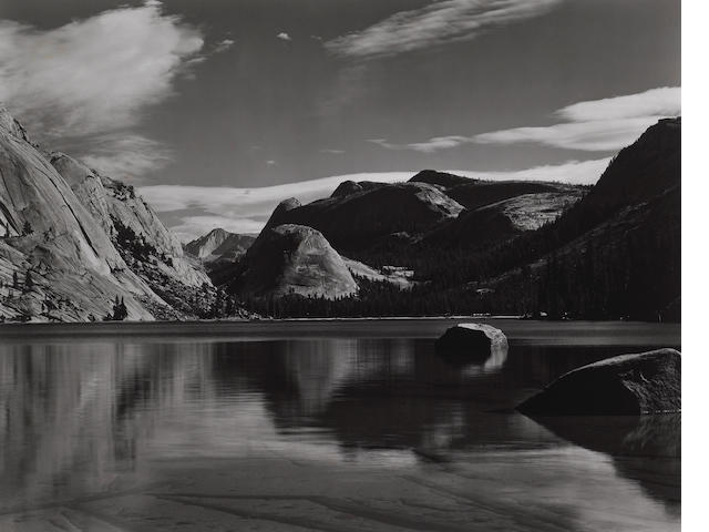 Edward Weston (American, 1886-1958); Lake Tenaya;