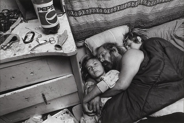 Mary Ellen Mark (American, born 1941); Chrissy, Dean and Linda Damm, Llano, California;