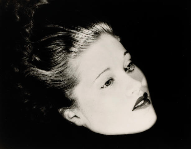 Lee Miller (American, 1907-1977); Floating Head (Mary Taylor), NYC;