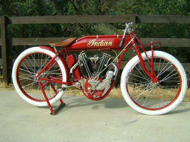 1915 Indian 8-Valve Boardtrack Racer Engine no. 71G158