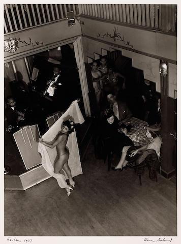 Aaron Siskind (American, 1903-1991); Club Barron, Harlem;