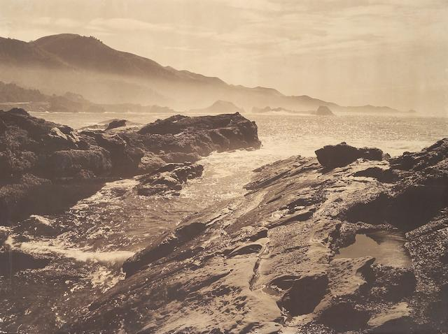 Ansel Adams (American, 1902-1984); Point Lobos, near Monterey;