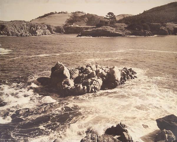 Ansel Adams (American, 1902-1984); Monastery, Carmel Valley;