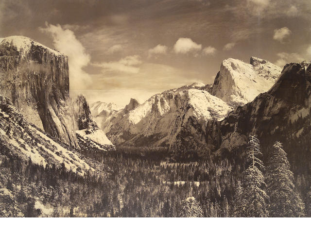 Ansel Adams (American, 1902-1984); Yosemite Valley;
