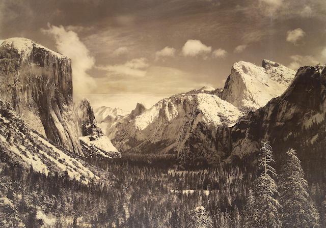 Ansel Adams (American, 1902-1984); Yosemite Valley;