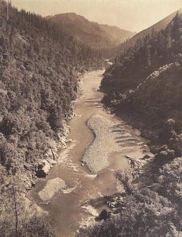 Ansel Adams (American, 1902-1984); Gravel Bars, American River;