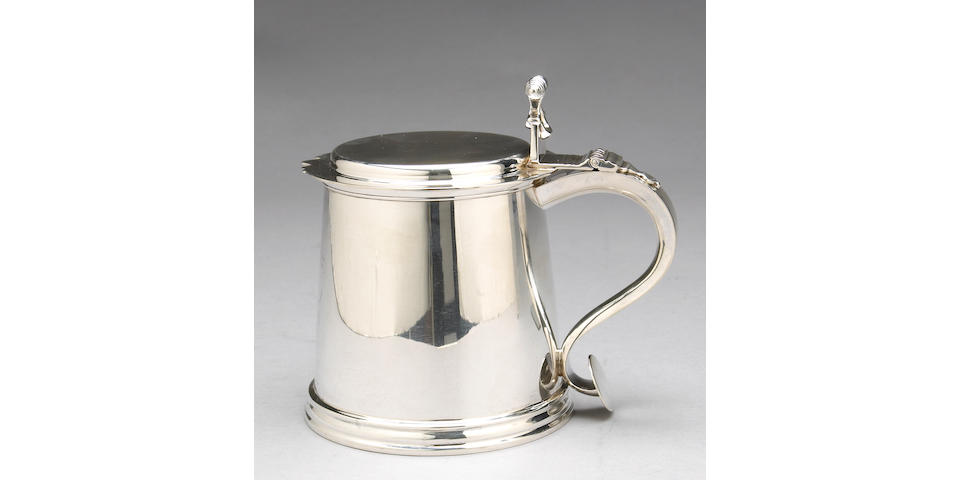 Sterling Tankard After the Antique