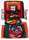 Karel Appel (Dutch, 1921-2006); Le Grande Tête Rouge;