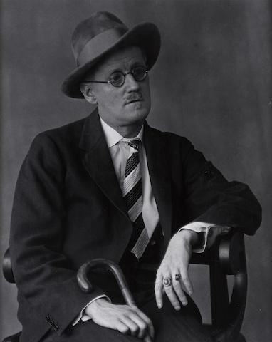 Berenice Abbott (American, 1898-1991); James Joyce;
