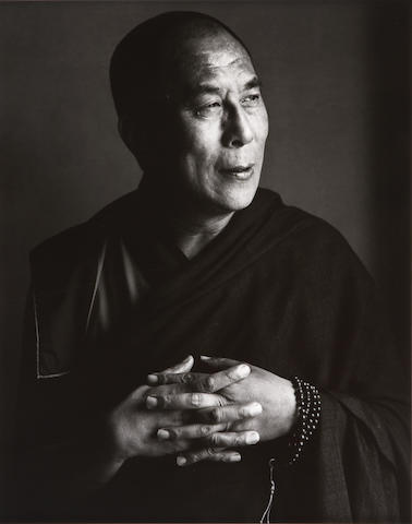 Herb Ritts (American, 1952-2002); His Holiness, the Dalai Lama, New York;