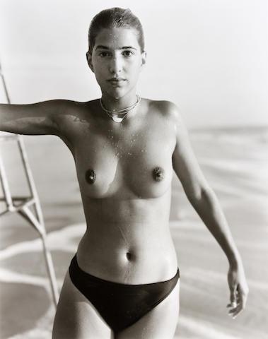 Jock Sturges (American, born 1947); Nikki; Gaelle, Montalivet, France; (2)