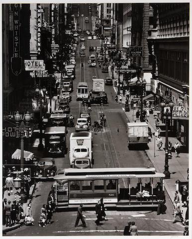 Max Yavno (American, 1911-1985); Powell Street, San Francisco;