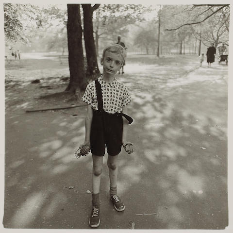 Diane Arbus (American, 1923-1971); Child with a Toy Hand Grenade in Central Park, N.Y.C.;