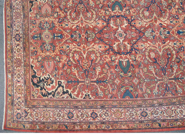 A Mahal carpet