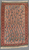 A Belouch rug size approximately 2ft. 7in. x 4ft. 2in.
