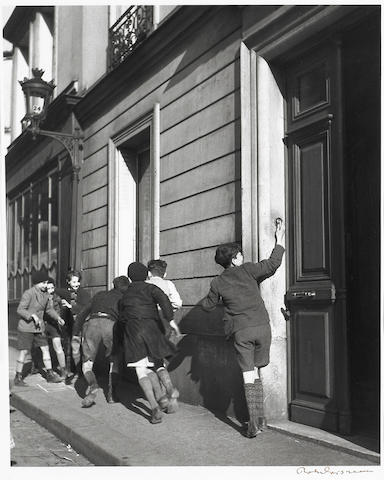 Robert Doisneau (French, 1912-1994); La Sonnette;