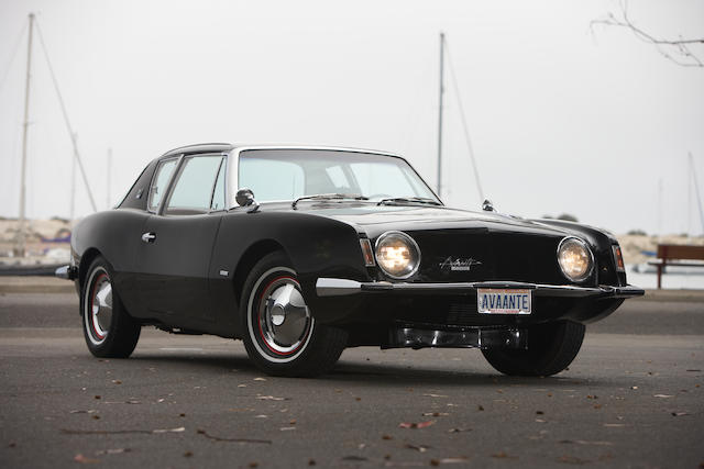 1963 Studebaker Avanti R2 Coupe  Chassis no. 63R1727