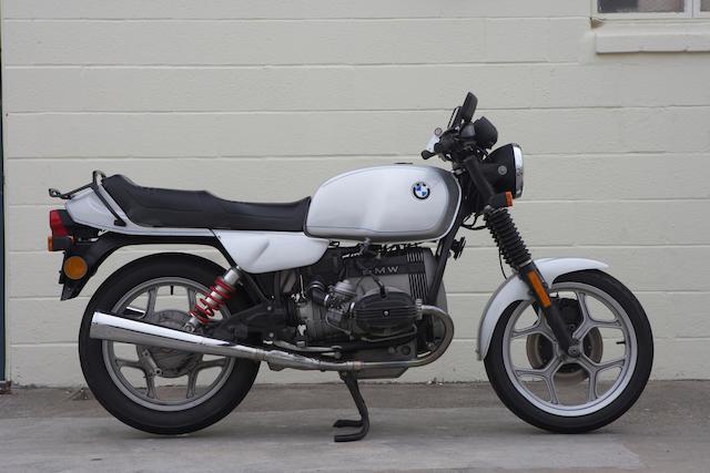1987 BMW R65 Frame no. WB1046209H6128439 Engine no. HBM098042AX