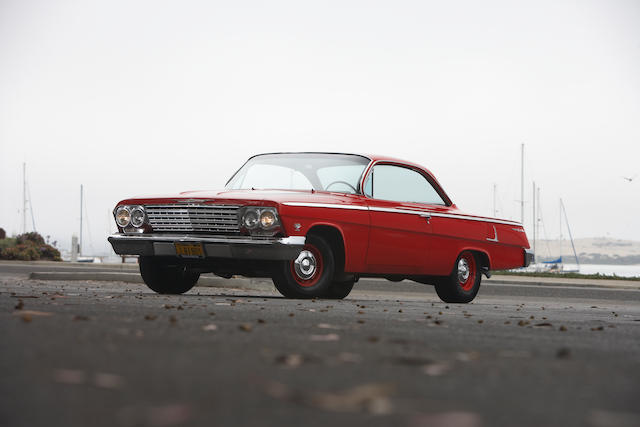 "1962 Chevrolet Bel Air ""Bubble Top"" 2-Door Hardtop  Chassis no. 21637A144885"
